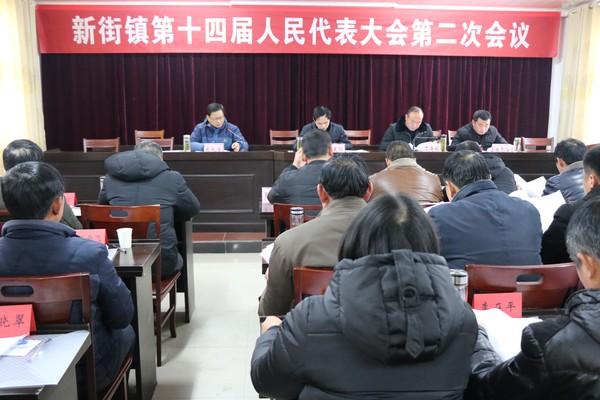天长市新街镇第十四届人民代表大会第二次会议召开