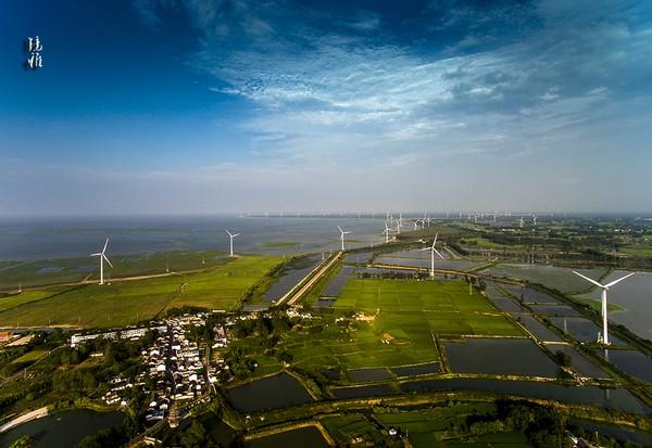 高郵湖風力發電