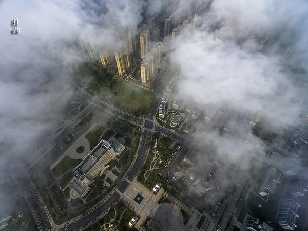 俯瞰南市區