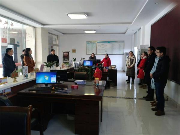 永丰镇领导节后慰问基层工作人员