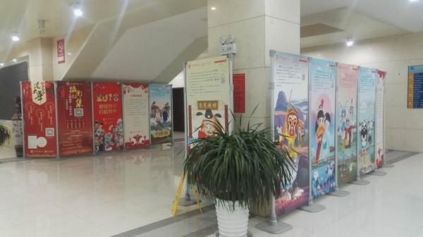 """天长市图书馆举办""""梨园贺岁·百戏昇平""""迎新春戏曲文化主题展"""