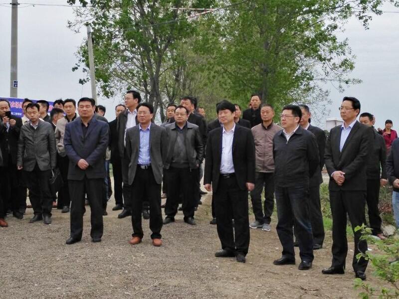 滁州市春季农业生产暨小麦赤霉病防控现场会在我市召开