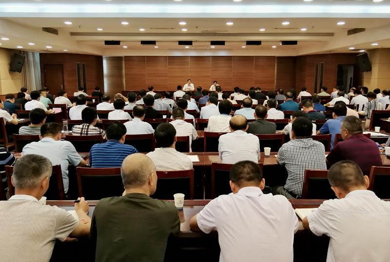 滁州市委综合考核组向我市反馈2017年度领导班子和市管干部综合考核结果