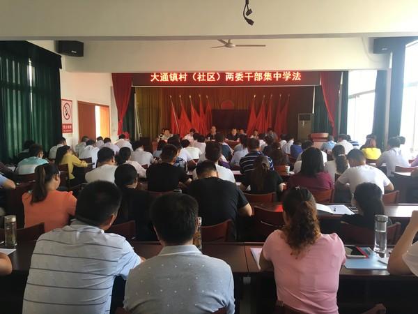 大通镇:开展新任职村两委干部集中学法,提高依法治村能力 作者: 来源: