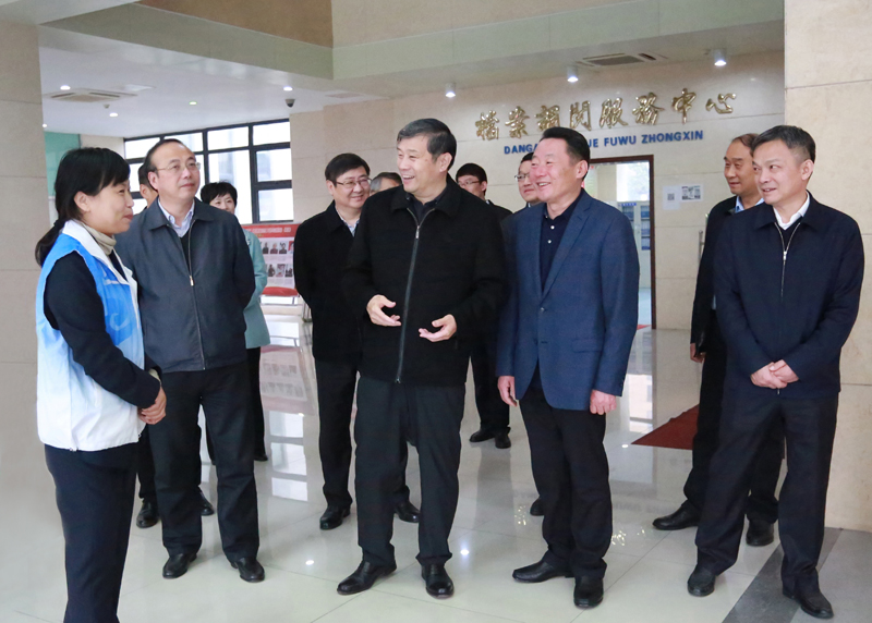 中宣部副部长孙志军在我市考察调研新时代文明实践中心建设工作