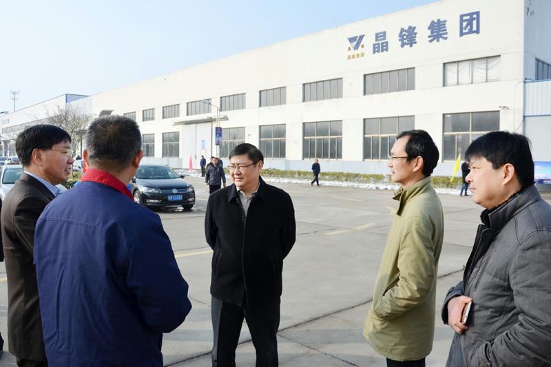 朱大纲节前走访企业并检查指导安全生产工作