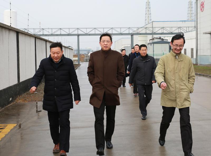 邓继敢在滁州高新区和金牛湖新区调研时强调——全力招商、完善机制、补齐短板、加快推 ...
