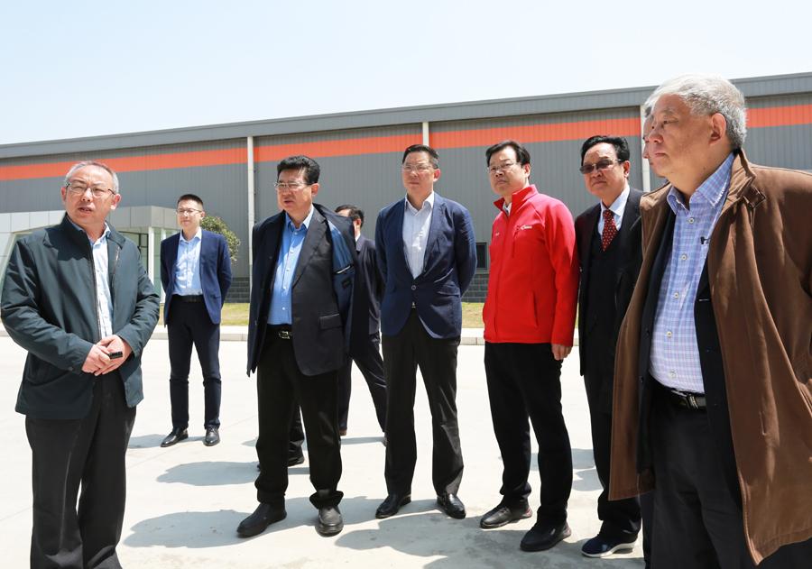 江蘇省安徽商會企業家代表團考察我市營商環境