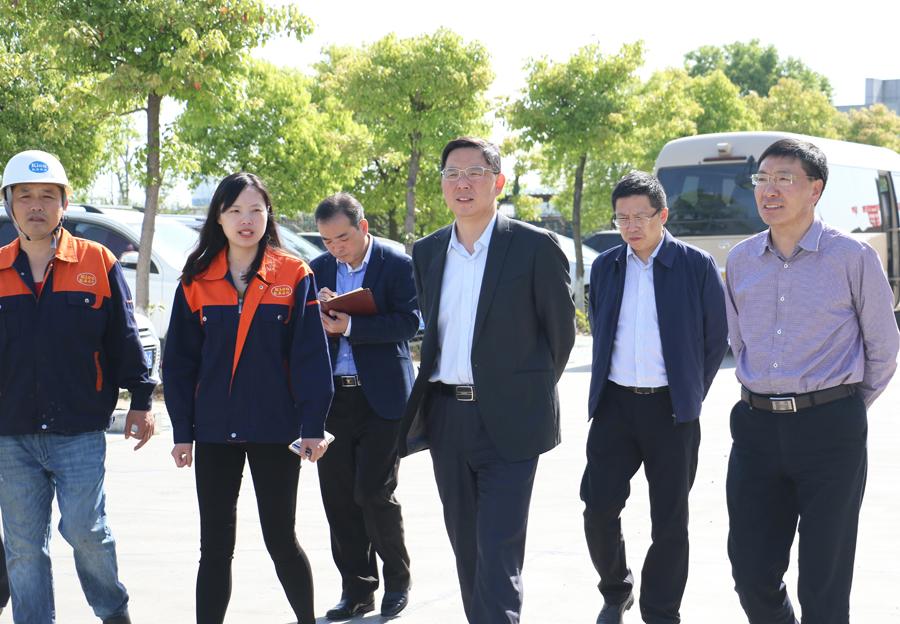 鄧繼敢調研滁州高新區企業時強調:穩發展、促創新、快建設、早投產,全力推動園區高質量發展
