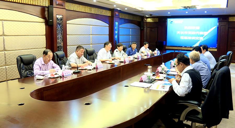 鄧繼敢率團赴江蘇省安徽商會洽談合作