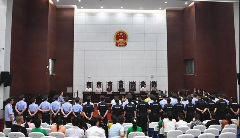 天長市首例涉黑案件一審宣判 作者: 來源:天長市人民檢察院