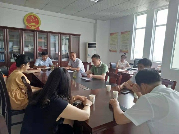 石梁鎮組織市人大代表小組開展經濟運行調研活動