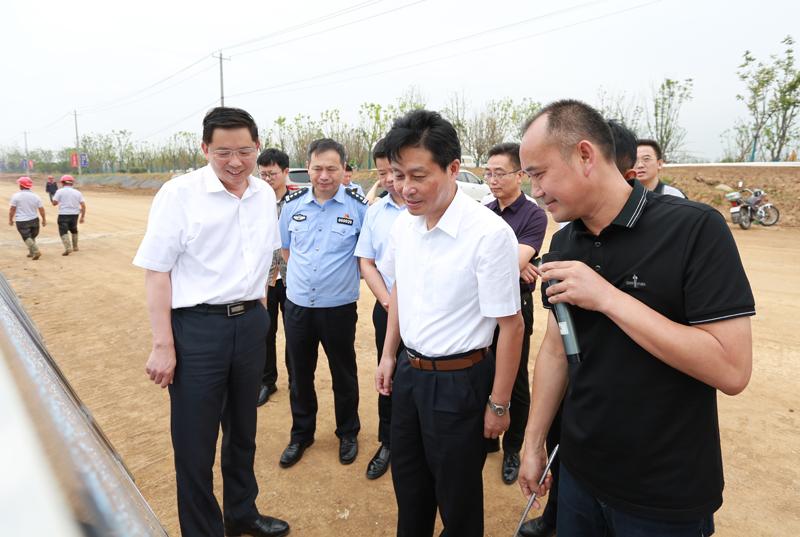 滁州市副市长张祖武来钱柜登陆,钱柜网页调研重点旅游项目推进情况