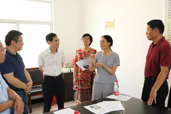 滁州市政协机关党组副书记、副秘书长于惠一行调研新街镇政协工作