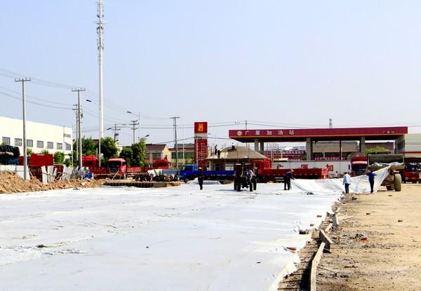 东市区货运停车场建设进入冲刺阶段 作者: 来源:重点工程处