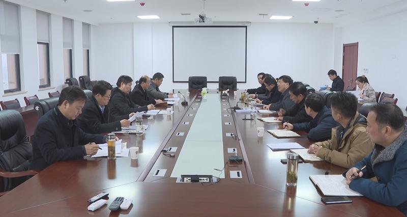賀家平調研滁州高新區經濟運行情況及園區年度考核工作