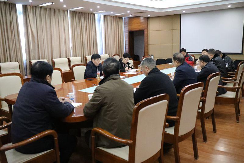 贺家平主持召开紧急会议 安排部署全市疫情防控工作