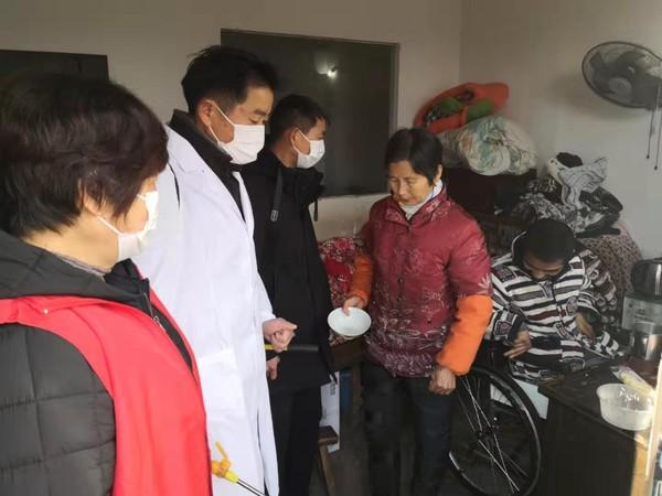 冶山镇:疫情防控不落一人 特殊群众人性化管